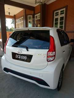 Myvi X 1.3 low mileage