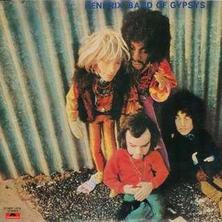 Vinyl -JIMI HENDRIX - Band of Gypsy (Rare Puppet cover) Jap press