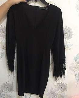 Black Dress Zara