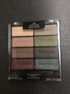 Wet n wild eyeshadow palette 眼影