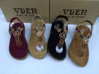 New Arrival Vden wedge sandals 1inches Korea made Size:35-41 P1700