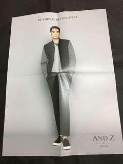 金秀賢andz leaflet (e款)