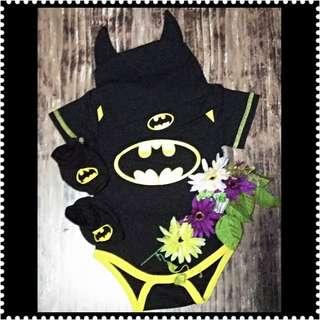 BATMAN ROMPER SET