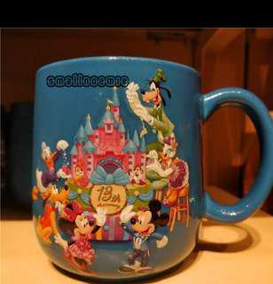 香港迪士尼13周年陶瓷杯