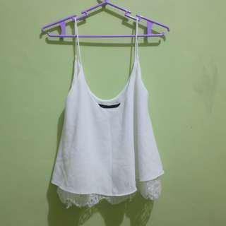 Zara Cami Top with lace details