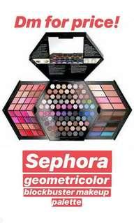 Sephora Geometricolor Makeup Palette