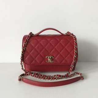 Authentic Chanel Affinity Business Flap Bag