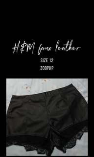 H&M faux leather
