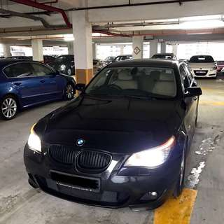 BMW 520I XL FOR RENT! (GRAB OR PERSONAL USE)