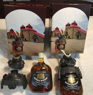 Free Delivery Nikka Gold & Gold Whisky