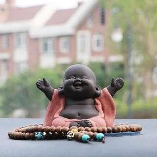 Laughing Buddha 弥勒佛汽车摆件(Preorder)