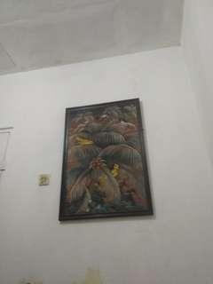 lukisan kuno jaman sebelum merdeka