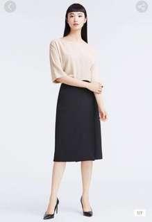 $ 259 || Lativ 高腰 垂墜風 口袋 一片長裙