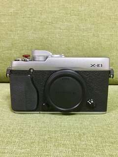 Fujifilm XE1 Mirrorless Camera Body.