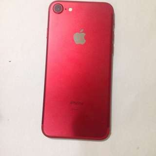 iPhone7 128gb (Product) Red 紅色 97%new Good condition iPhone 7 (7 008)