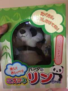錄音 熊貓