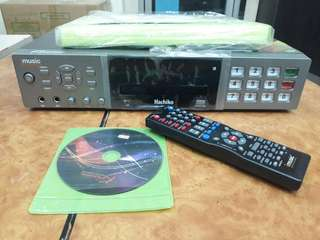 USED Kvision Hachiko DVD Karaoke 15,000+ Songs 9/10 Condition