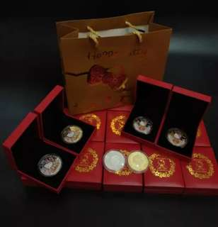 Coin Collection : 40 Years Anniversary Hello Kitty
