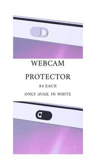[INSTOCK SALES] WHITE WEBCAM COVER PROTECTOR