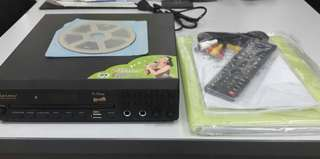 USED Kvision V-One DVD Karaoke 15,000+ Songs Condition 9/10
