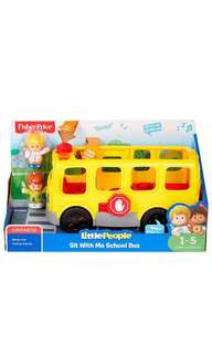 ~Ready Stocked~ Fisher-Price Little People Sit with Me School Bus