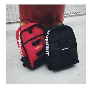 Supreme backpack  Pre order  500 each plus sf