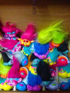 30 plus pcs Disney Trolls Toy Lot
