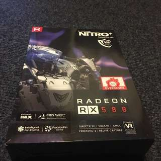 New Sapphire NITRO+ Radeon RX 580 8GB