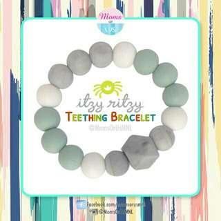 ‼️NEW‼️ITZY RITZY Teething Bracelet (MINT)