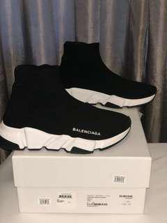 BALENCIAGA SPEED TRAINERS BLACK SIZE 6 WOMENS