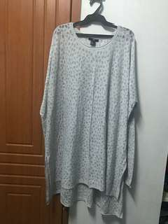 H&M oversized fashion top