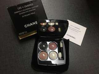 Chanel eyeshadow palette quad les 4 ombres 眼影