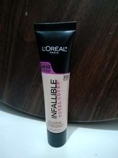 Infallible Total Cover #303 Nude Beige