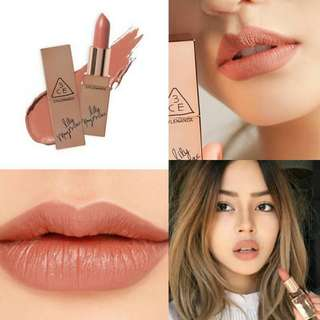3CE Lipstick in #119 HOLD ON LILY MAYMAC