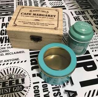 🚚 收納小木盒 鐵盒