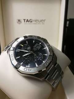 Brand New Tag Heuer 43mm Aquaracer Chronograph