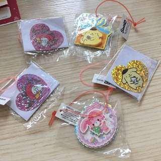 Sanrio (布甸狗,Melody) 飾物吊牌小禮物