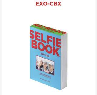 (Check Gifts ) EXO CBX Selfie Book Group Order with free gifts