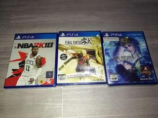 Brandnew ps4 games
