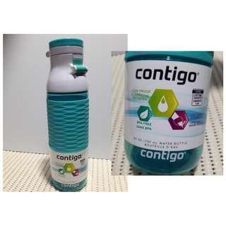 Contigo Flip Top Water Bottle 24 oz