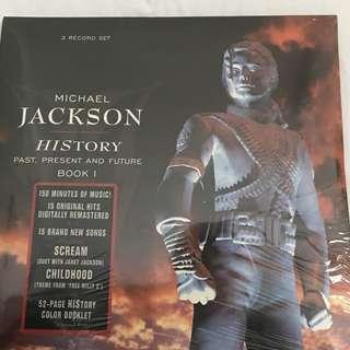 Advanced order: 1995 US Pressing MICHAEL JACKSON History LP Vinyl 3 Record Set Sealed