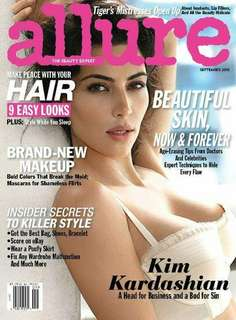 Allure magazine Kim Kardashian