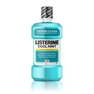 Cool mint listerine mouthwash