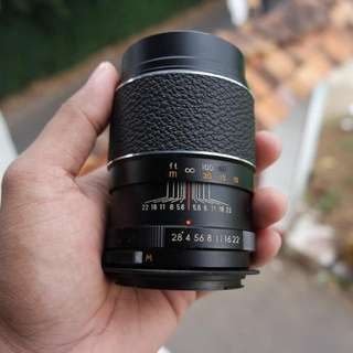 Pentor Automatic 135mm F2.8 M42 Plus Adapter M42 To Eos
