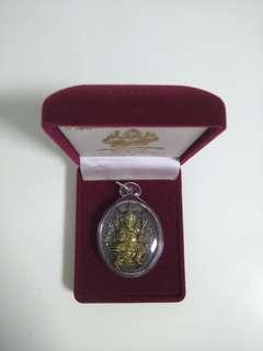 Thai Amulet First Batch Phra Pikanet Phim Yai Wat Saman Rattanaram BE2556