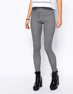 Forever 21 plaid trousers