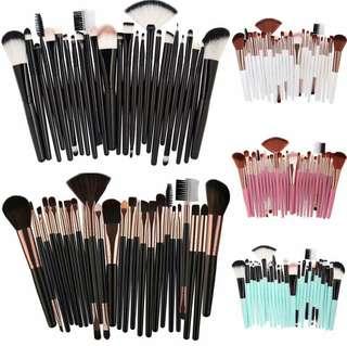 25pcs Professional Make Up Brush Set
