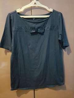 Ladies' black blouse