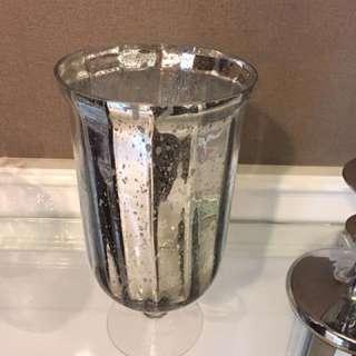 BIG Silver Vase