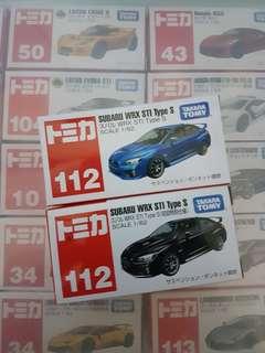 Tomica Subaru WRX STI Type S